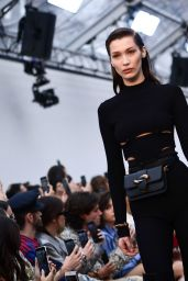 Bella Hadid - Roberto Cavalli Runway, Milan Fashion Week 02/23/2019