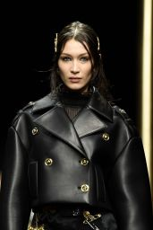Bella Hadid - Versace Fashion Show in Milan 02/22/2019