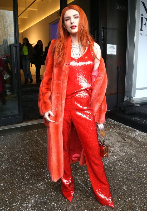 Bella Thorne - Outside the Sally LaPointe Show in NYC 02/12/2019