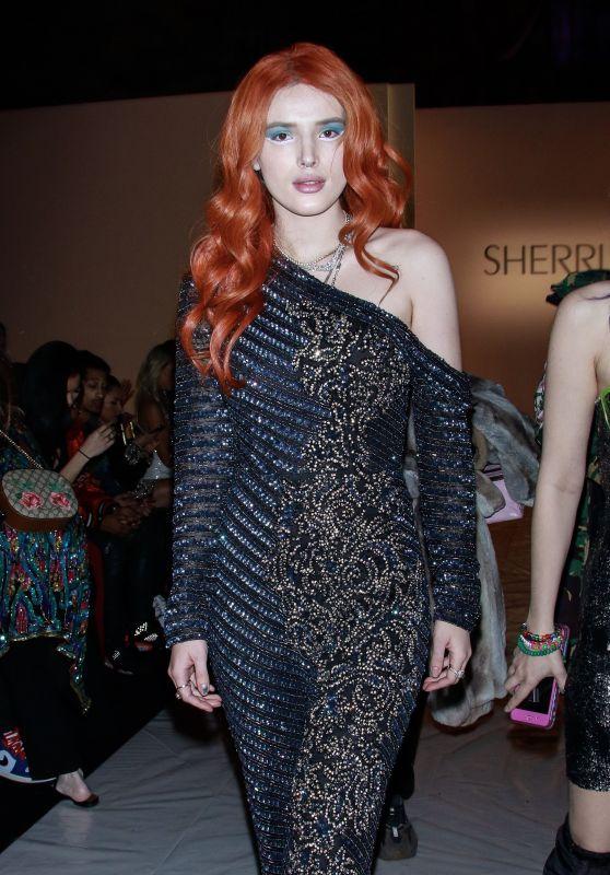Bella Thorne - Sherri Hill Fashion Show in NYC 02/08/2019