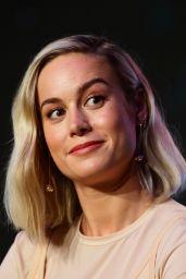 "Brie Larson – ""Captain Marvel"" Press Conference in Singapore 02/14/2019"