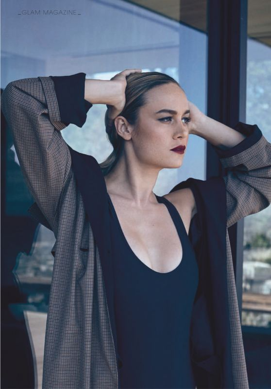 Brie Larson - Glamour Magazine Spain March 2019