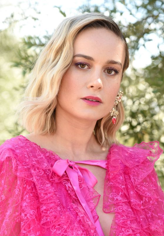 Brie Larson – JNSQ Rose Cru Debuts Alongside Rodarte FW/19 Runway Show