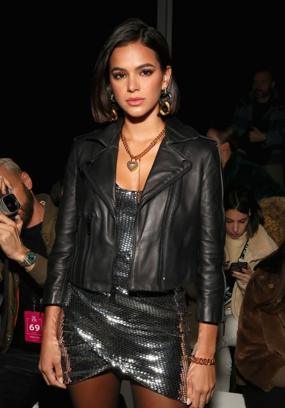 Bruna Marquezine - Rosa Cha Fashion Show in NYC 02/13/2019