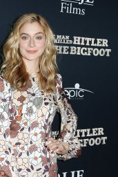 "Caitlin Fitzgerald - ""The Man Who Killed Hitler and Then the Bigfoot"" Premiere in Los Angeles 02/04/2019"