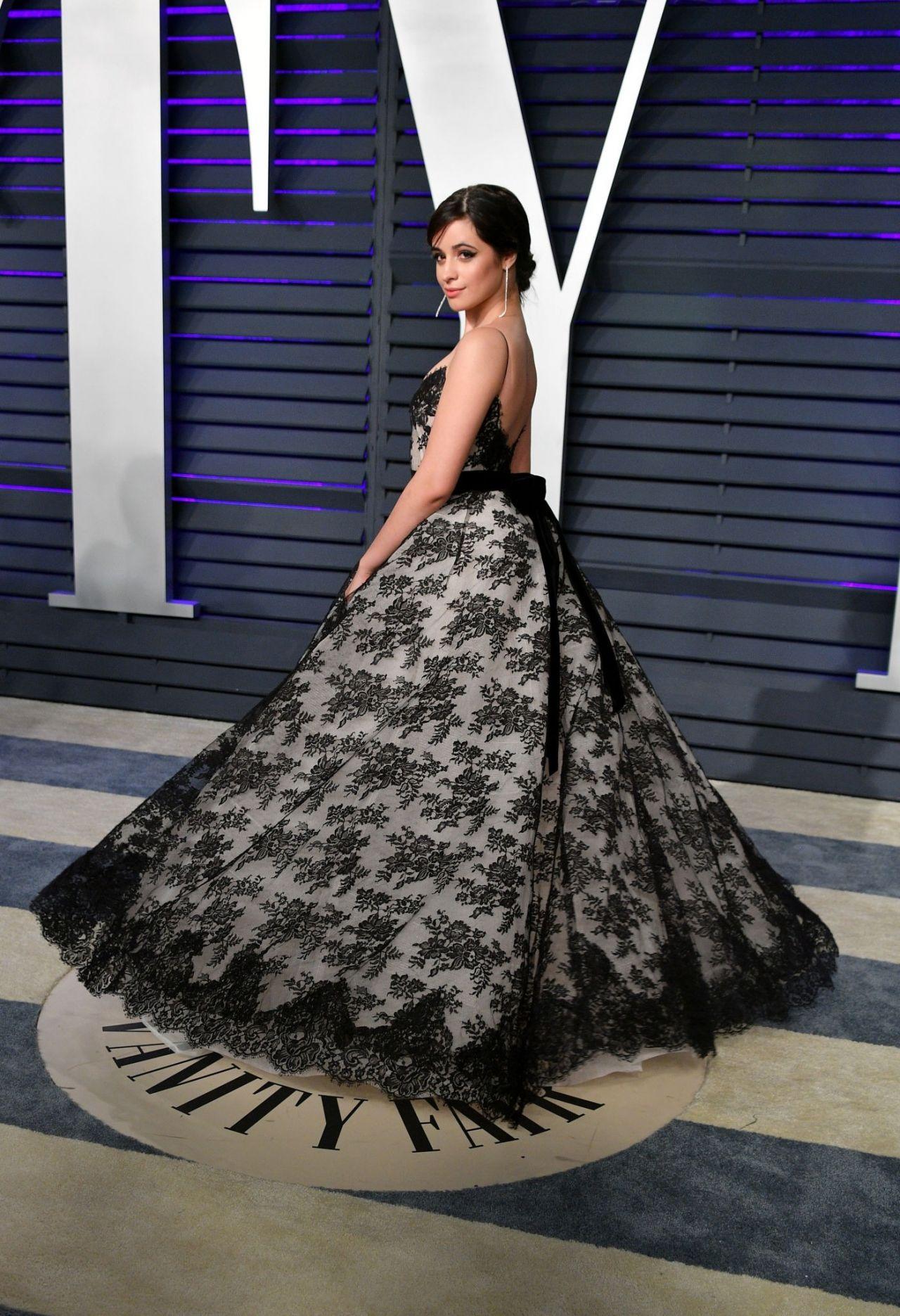 Camila Cabello 2019 Vanity Fair Oscar Party