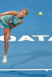 Camila Giorgi - 2019 WTA Qatar Open in Doha 02/12/2019