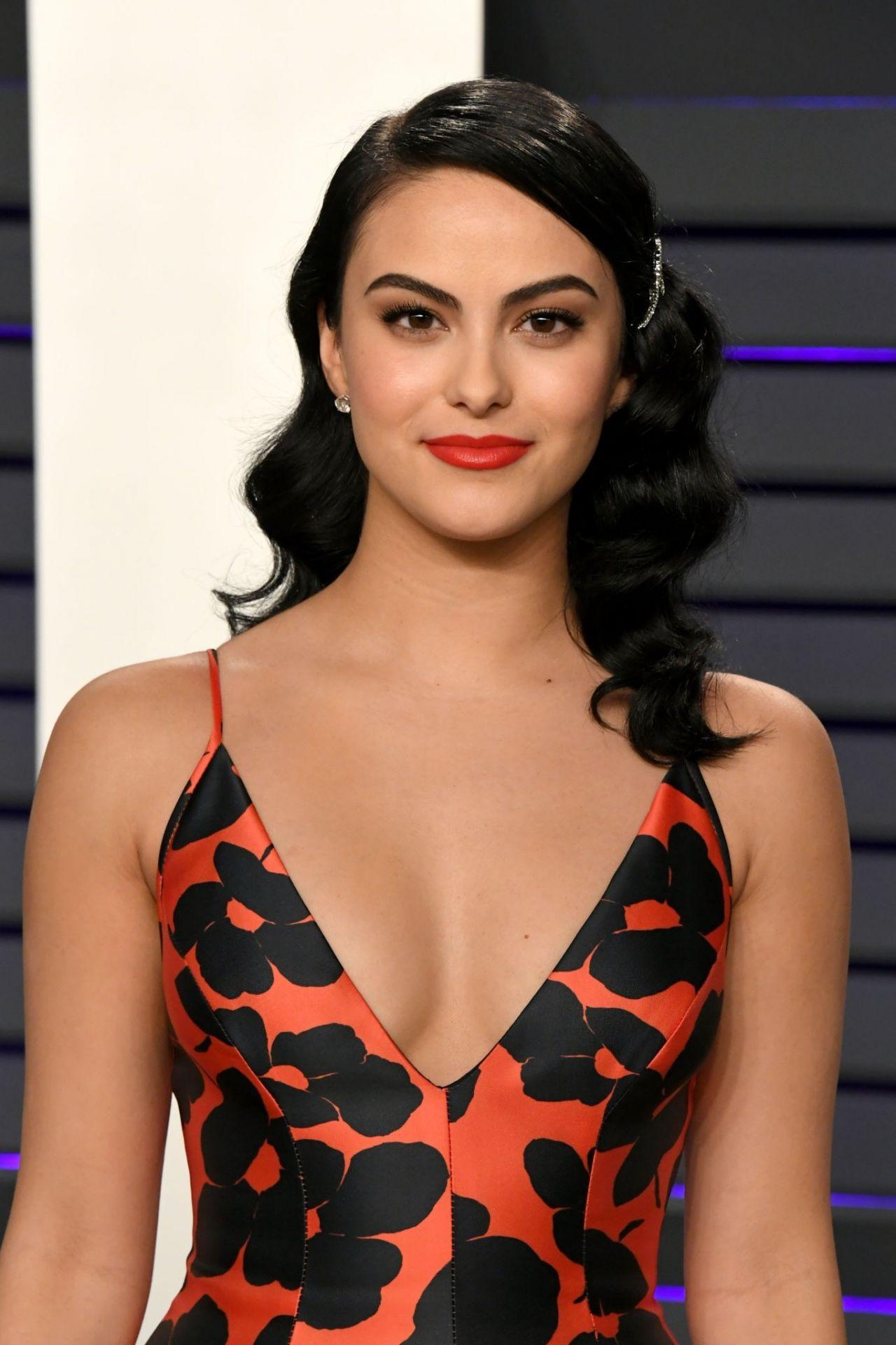 Camila Mendes 2019 Vanity Fair Oscar Party