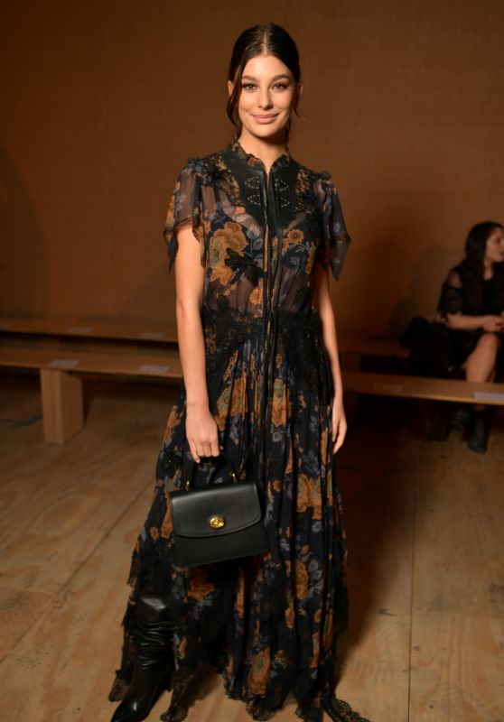 Camila Morrone - Coach Fashion Show in NYC 02/12/2019