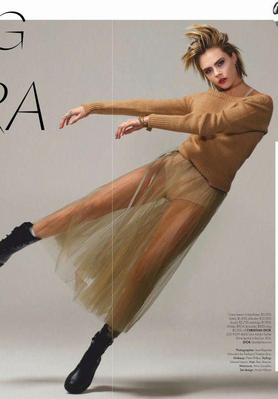 Cara Delevingne - Elle Magazine March 2019 Issue