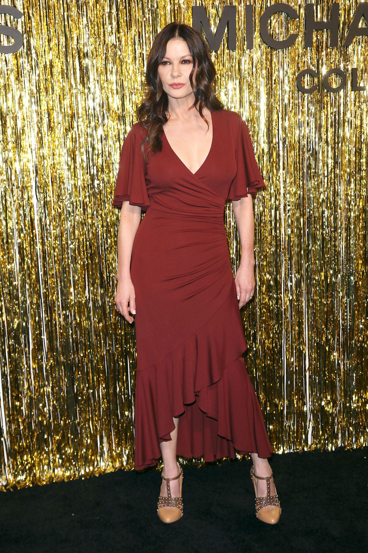 Catherine Zeta Jones Michael Kors Fashion Show In New