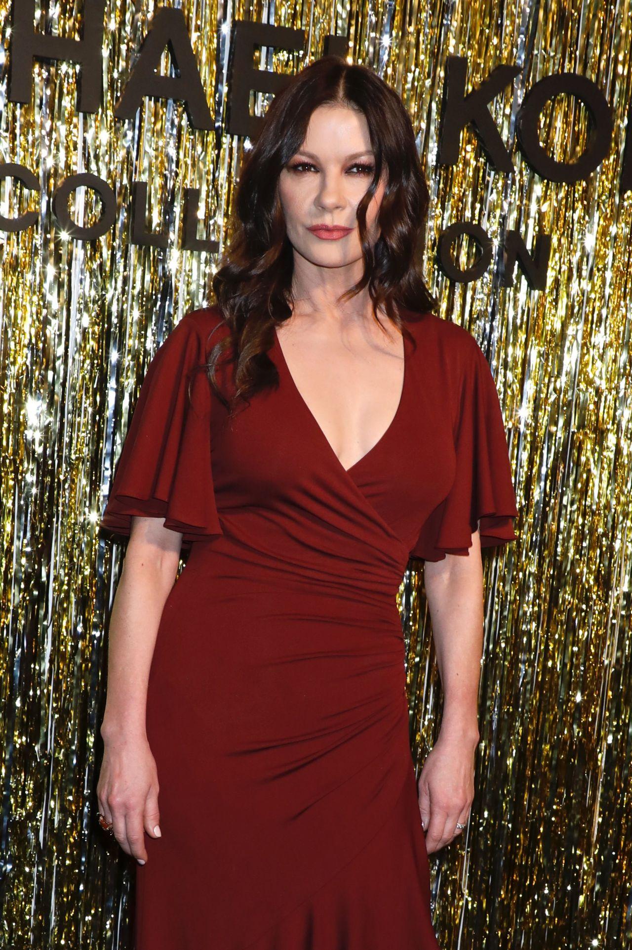 Catherine Zeta Jones Michael Kors Fashion Show In New