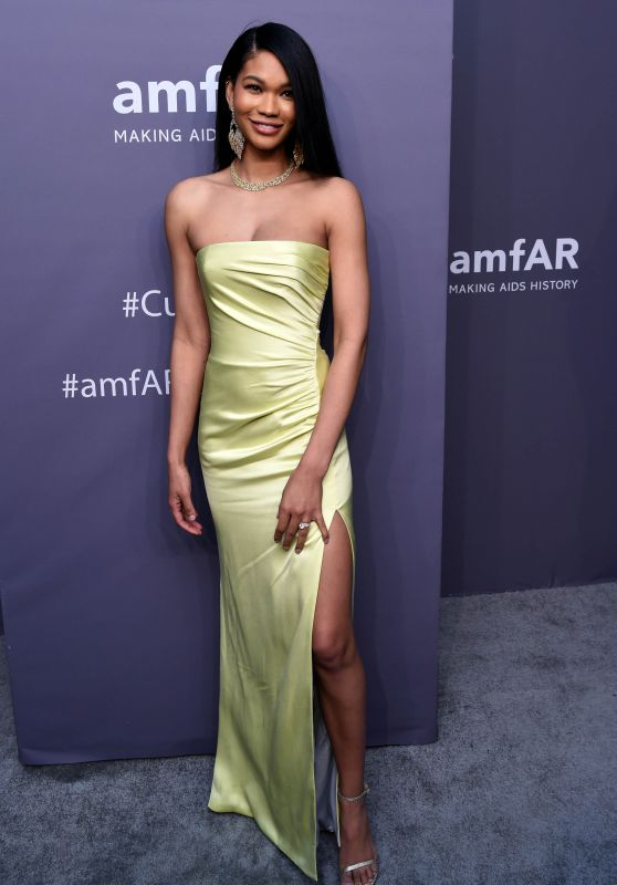 Chanel Iman – 2019 amfAR Gala in New York