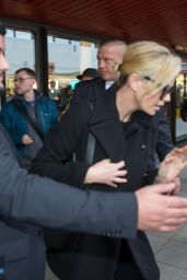 Charlize Theron - Arrives at Berlin Tegel Airport 02/09/2019