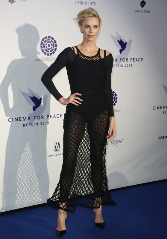 Charlize Theron - Cinema For Peace International Committee & Nominee Dinner in Berlin 02/10/2019