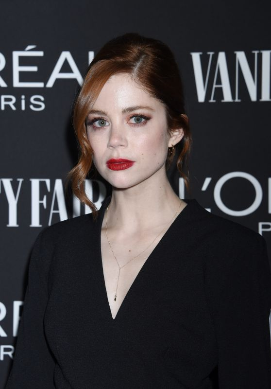 Charlotte Hope – Vanity Fair & LOréal Paris Celebrate New Hollywood 02/19/2019