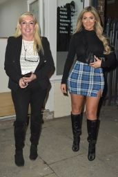 Chloe Ferry at a Hair Salon in Middlesbrough 02/23/2019