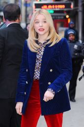 Chloe Grace Moretz - Outside GMA in NYC 02/20/2019