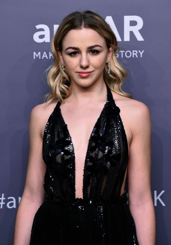 Chloe Lukasiak – 2019 amfAR Gala in New York