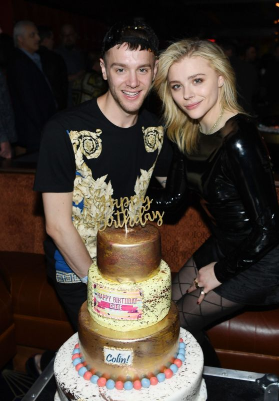 Chloë Moretz and Her Brother Celebrating Their Birthday in Las Vegas 02/02/2019