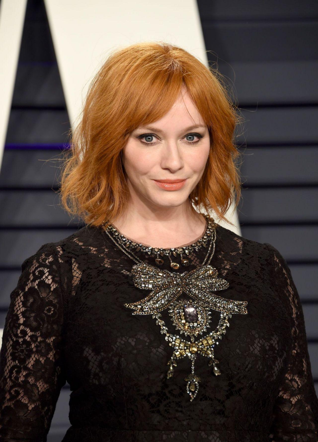 Christina Hendricks 2019 Vanity Fair Oscar Party