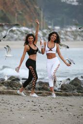 CJ Franco and Raven Lexy - Photoshoot in Malibu 02/05/2019