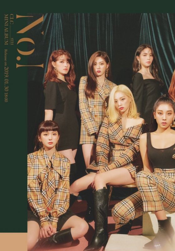 CLC - No.1 Album Photos 2019