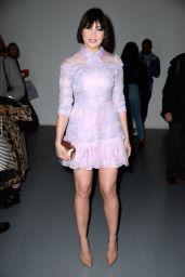 Daisy Lowe - Bora Aksu Show at London Fashion Week 02/15/2019