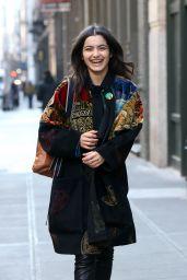 Daleela Echahly Street Fashion - New York Fashion Week Casting in NYC 02/04/2019