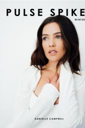 Danielle Campbell - Pulse Spikes Photoshoot, January 2019