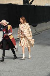 Debby Ryan - Outside Tory Burch Fashion Show in NYC 02/10/2019