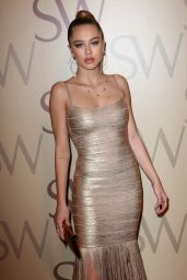 Delilah Hamlin - Stuart Weitzman Campaign Release Party, Fall Winter 2019 at NYFW 02/12/2019