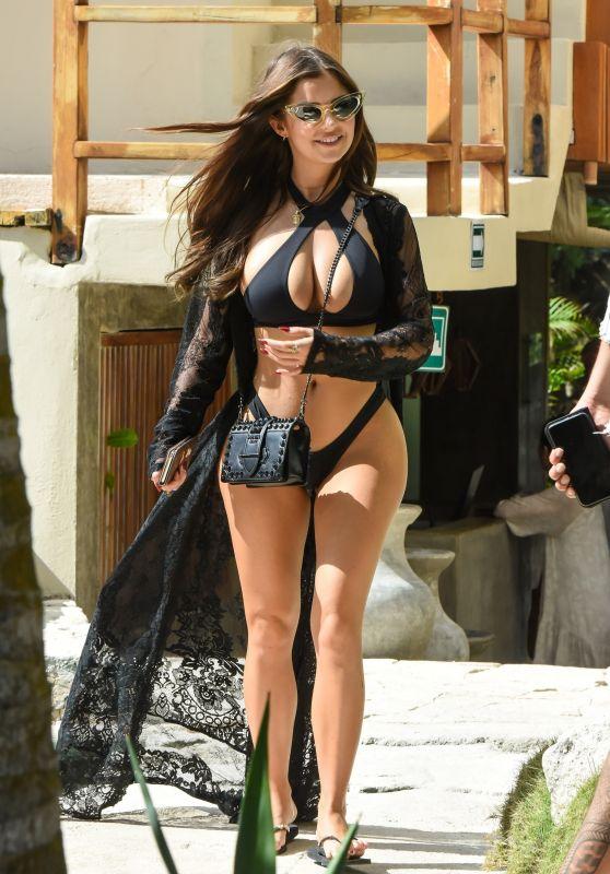 Demi Rose in Bikini 01/14/2019