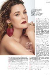 Drew Barrymore - Marie Claire Magazine Australia April 2019 Issue