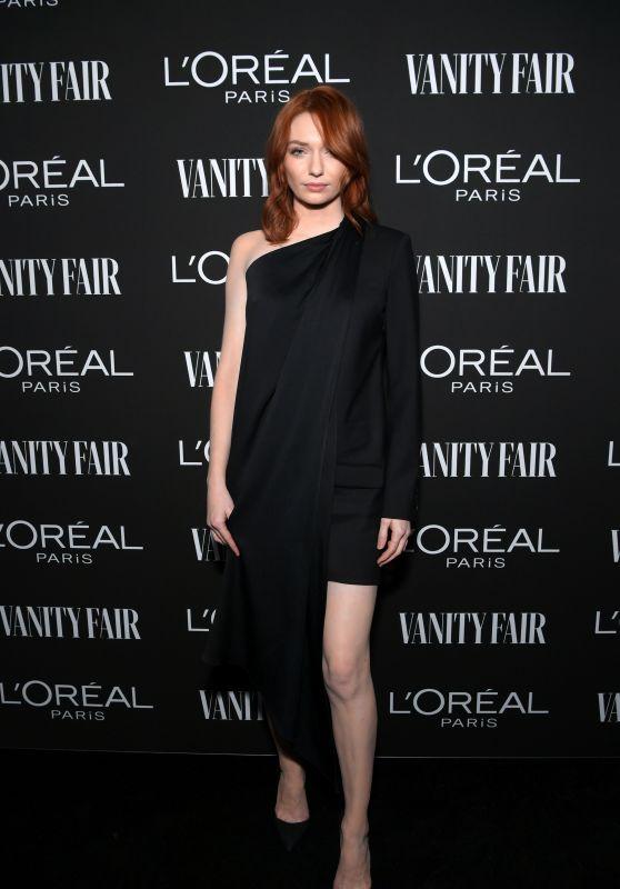 Eleanor Tomlinson – Vanity Fair & LOréal Paris Celebrate New Hollywood 02/19/2019