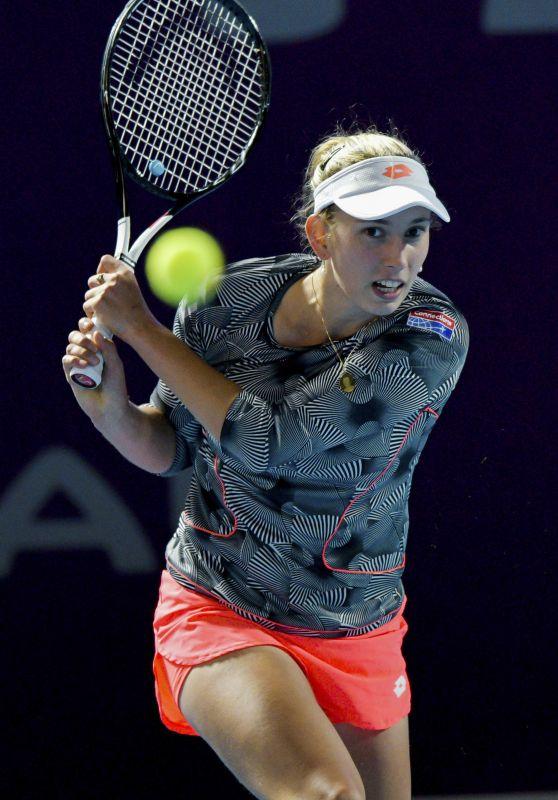 Elise Mertens – 2019 WTA Qatar Open in Doha 02/13/2019
