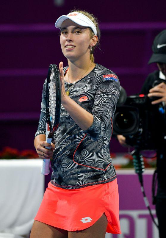 Elise Mertens – 2019 WTA Qatar Open in Doha 02/14/2019