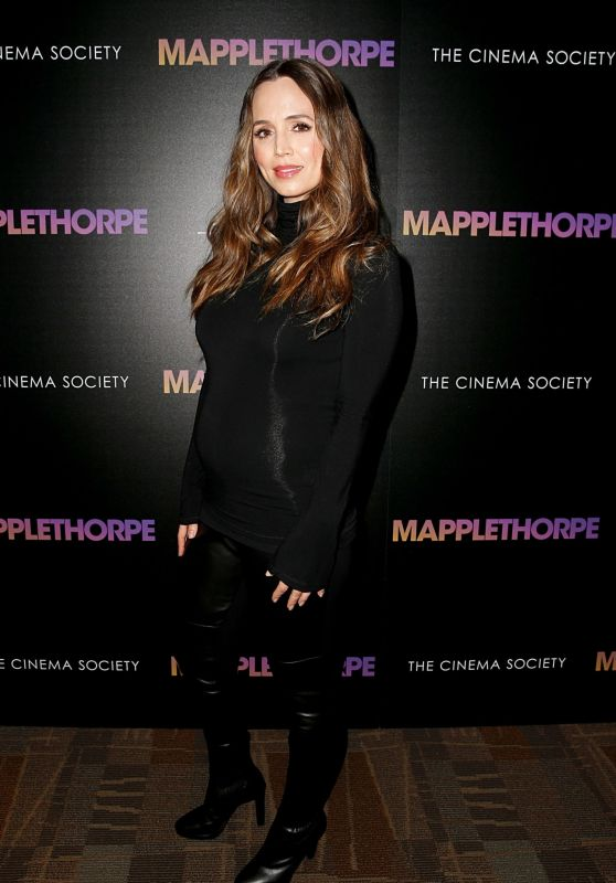 "Eliza Dushku - ""Mapplethorpe"" Screening at Cinepolis Chelsea in NYC"