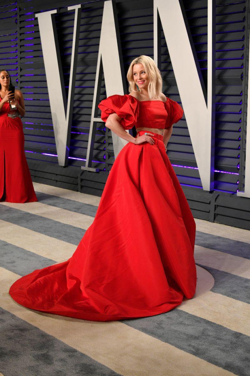 Elizabeth Banks 2019 Vanity Fair Oscar Party
