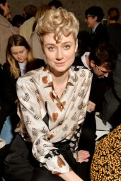 Elizabeth Debicki - Max Mara Show at Milan Fashion Week 02/21/2019