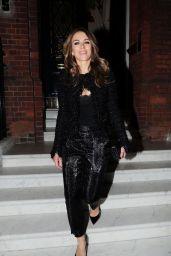 Elizabeth Hurley - Outside Her House in London 02/14/2019
