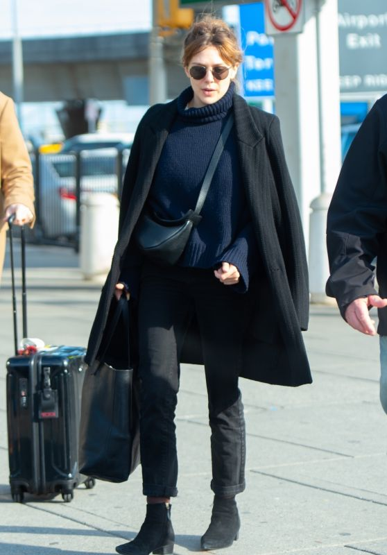 Elizabeth Olsen Travel 02/15/2019