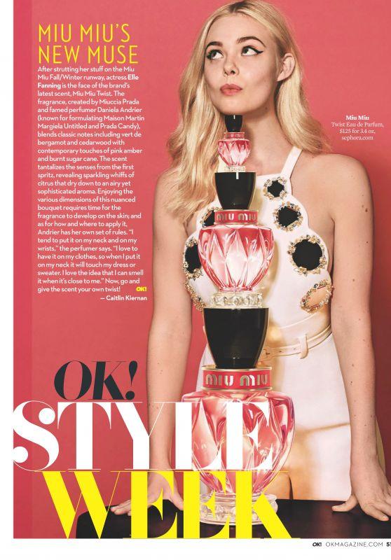 Elle Fanning - OK! Magazine USA February 2019
