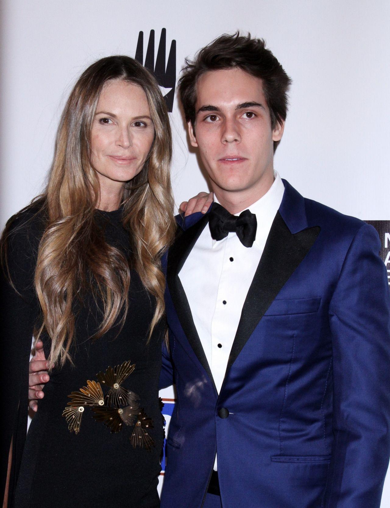 Elle Macpherson American Australian Arts Awards In Nyc