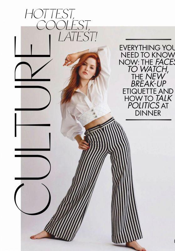 Ellie Bamber - Elle Magazine Australia March 2019 Issue