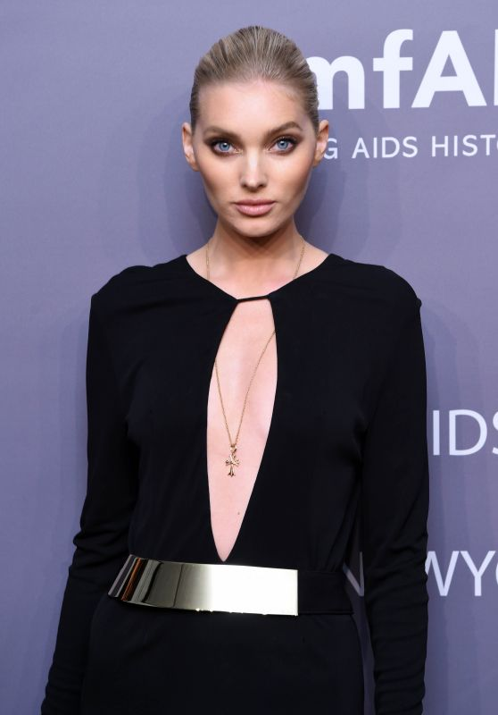 Elsa Hosk – 2019 amfAR Gala in New York (more pics)