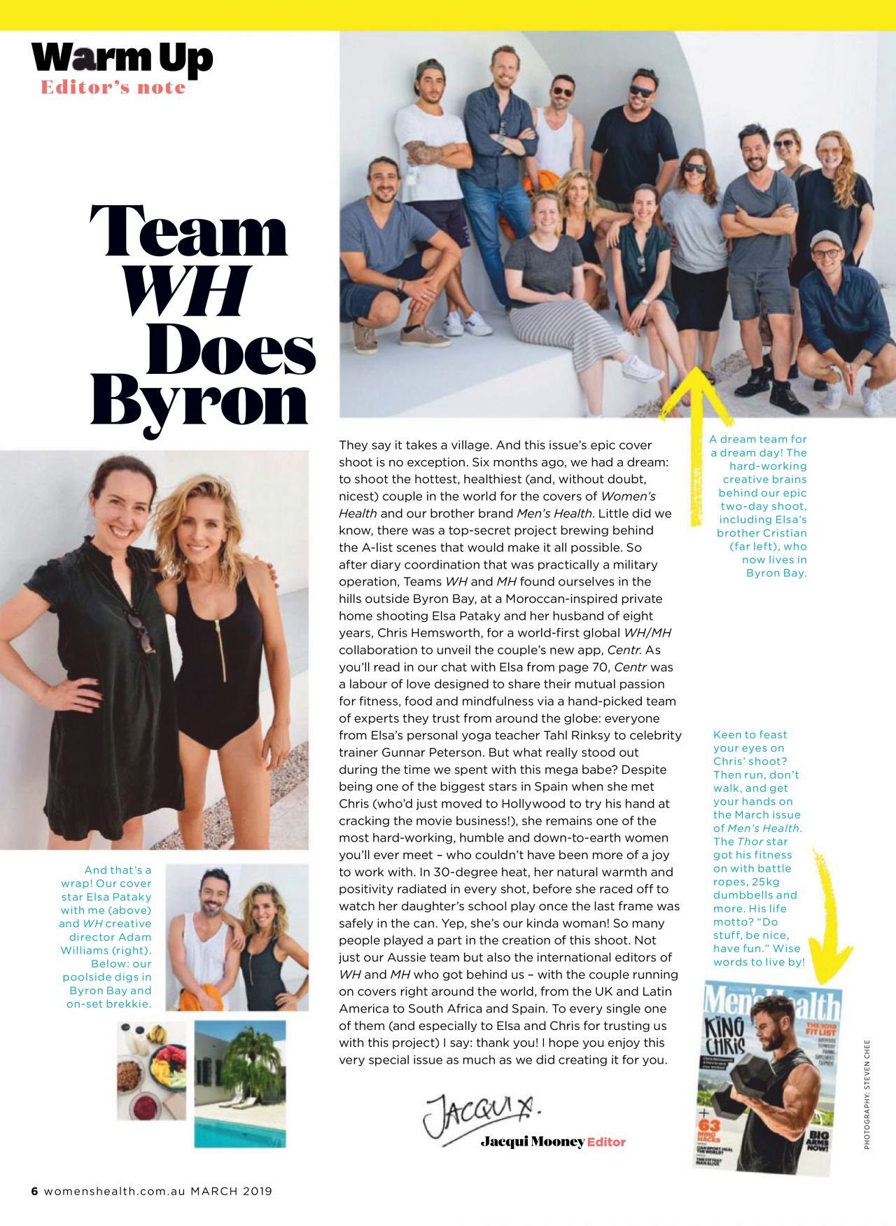 Elsa Pataky - Womens Health Magazine March 2019 Issue-7224