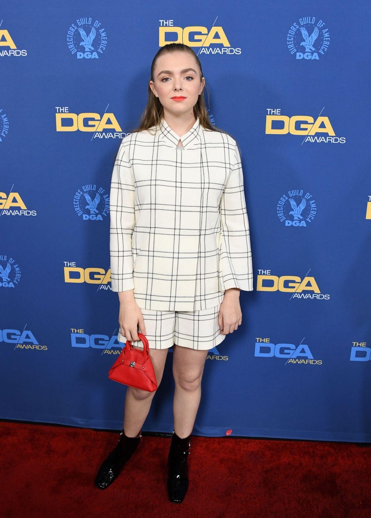 Elsie Fisher 2019 Directors Guild Of America Awards