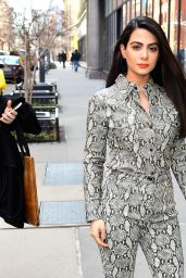 Emeraude Toubia - Outside BUILD in NYC 02/25/2019