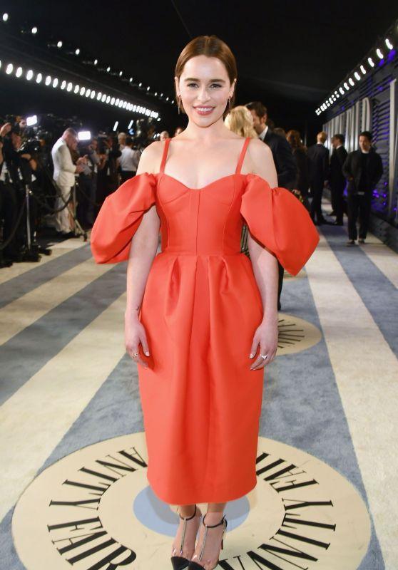 Emilia Clarke - 2019 Vanity Fair Oscar Party